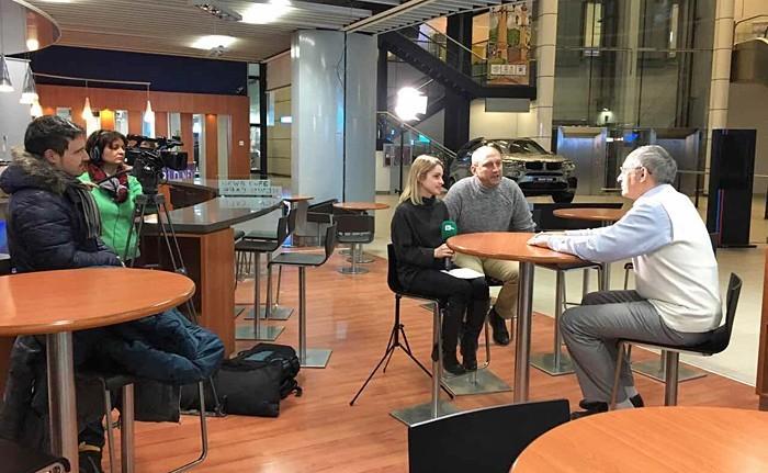 Олег Торсунов дал интервью болгарским журналистам