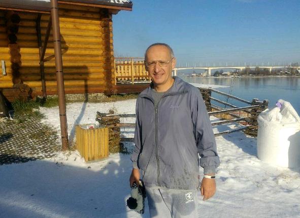 Олег Торсунов выложил фотографии с утренней пробежки в Иркутске