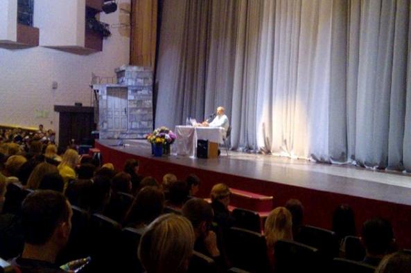 Москвичи поделились впечатлениями о прошедшей лекции