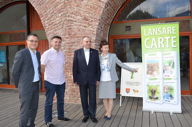 В Румынии состоялась презентация книг «Законы счастливой жизни»