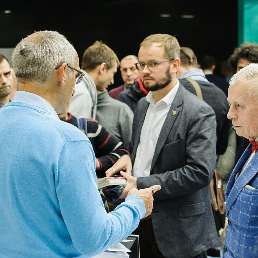 Фотоотчет с мужского семинара в Москве