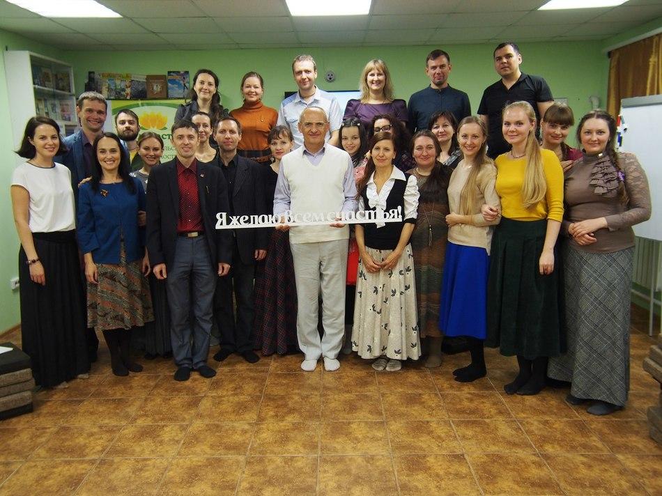 Олег Торсунов посетил новосибирский «Дом в Благости»