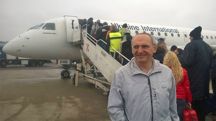 Олег Торсунов прилетел в Киев